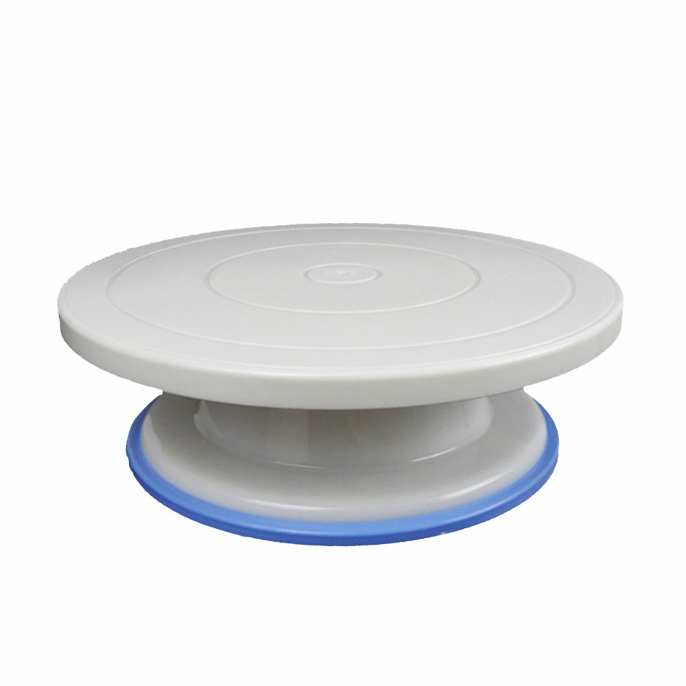 27cm Plastic Cake Turntable Rotating Cake Decorating