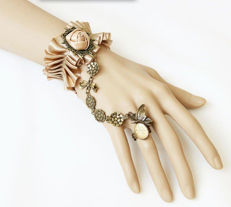 Bracelets Retro Style Gothic Fashion Girl Jewelry