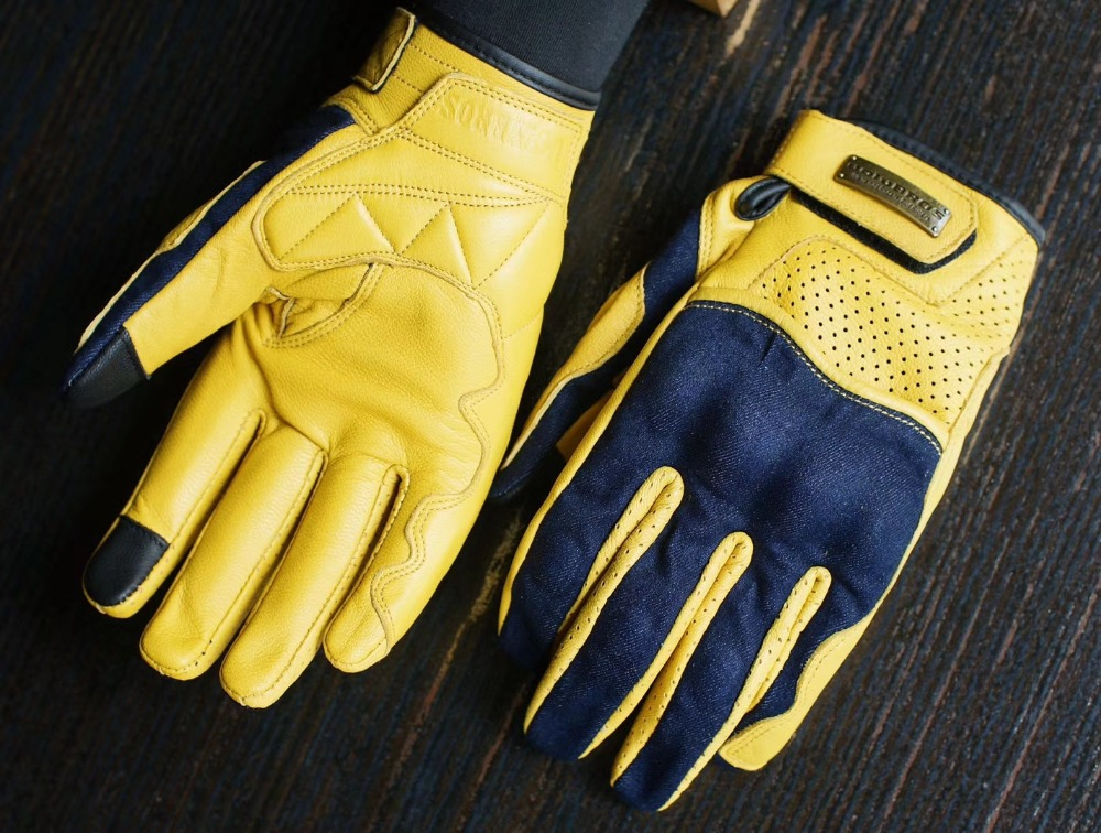 free shipping Retro Fashion Motorcycle Gloves Uglybros Gloves Road Cycling Gloves Unisex Racing Gloves