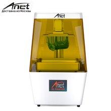 Новинка! Анет N4 SLA 3D-принтеры/точность 40um светочувствительная Смола SLA 3D-принтеры с 3,5 дюйма ЖК-дисплей Экран/RU