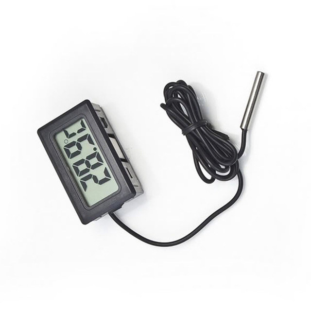Mini LCD Display Digital Thermometers Kitchen Thermometers Cooking Food Temperature Measure Meat Grill BBQ Milk Aquarium Water