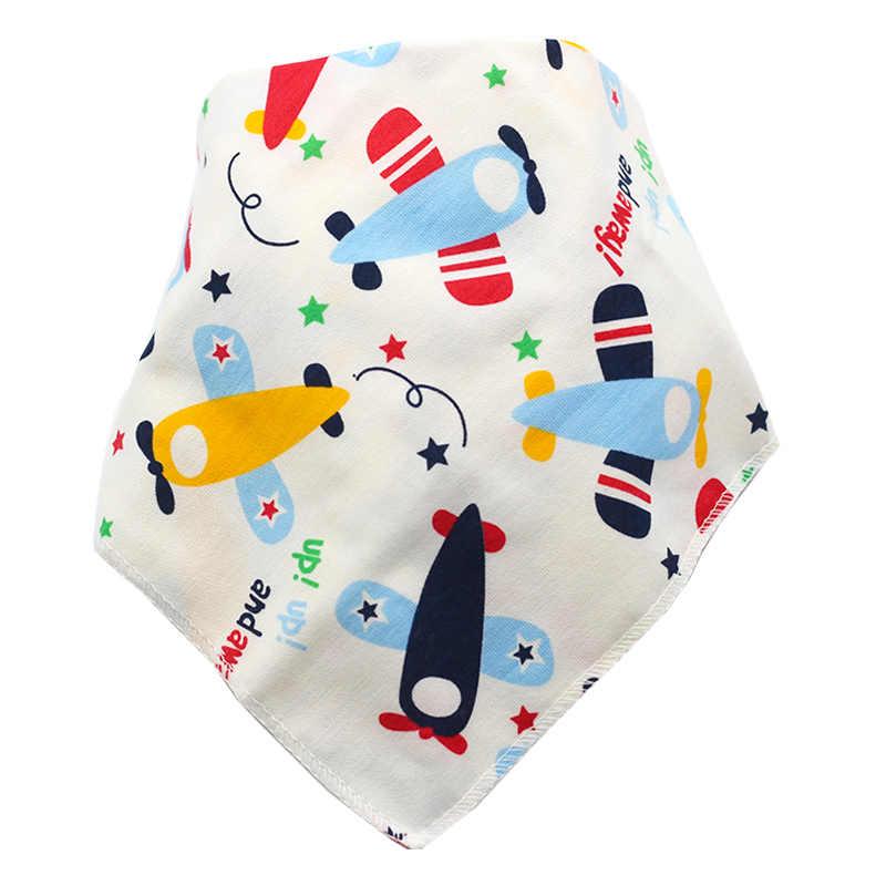 Babadores do bebê menino menina bandana água absorver bib arroto pano triângulo algodão cachecol acessórios de natal