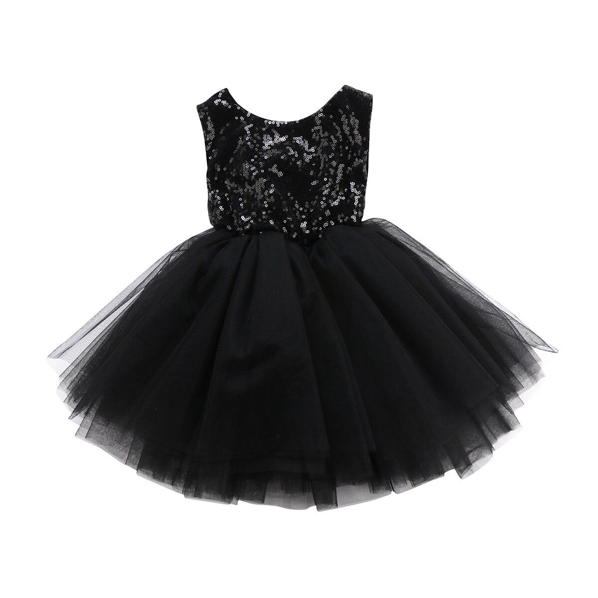 Sin espalda princesa niños bebé flor niñas ropa fiesta lentejuelas vestido sin mangas tutú Mini niveles Mini Vestidos Niña