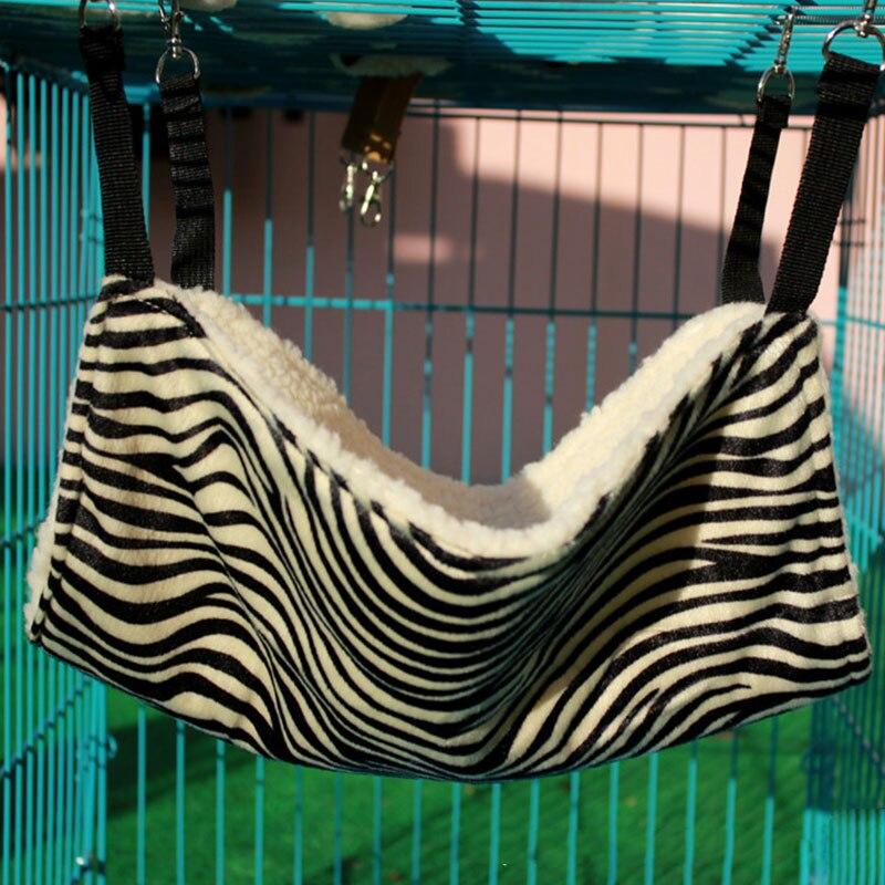 Животное котенок подвесная кровать подушка коврик железная клетка собака 27*27 см Товары для домашних животных теплое гнездо - Цвет: Белый