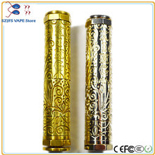 e-cigarette KING V2 Mech Mechanical Mod 510 Thread 183500 18500 18650 Battery Electronic Cigarette Vaporizer Vapor Vape Body original vgod pro mech mod mechanical mod powered by single 18650 batetery hybrid 510 thread tank electronic cigarette vape mods