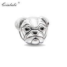 Bead Charm Pug Dog,