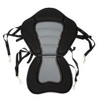 Kayak Padded Seat Rowing Boat Soft Non Slip Padded Base Adjustable Backrest With Boat Cushion