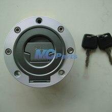 Алюминий покрытие топливного мотоциклного бака замок на Крышку Газа ключ для Yamaha YZF R1 2002-2011 R6 2003-2010 R6S 2003-2010 04 05 06 07 08 09