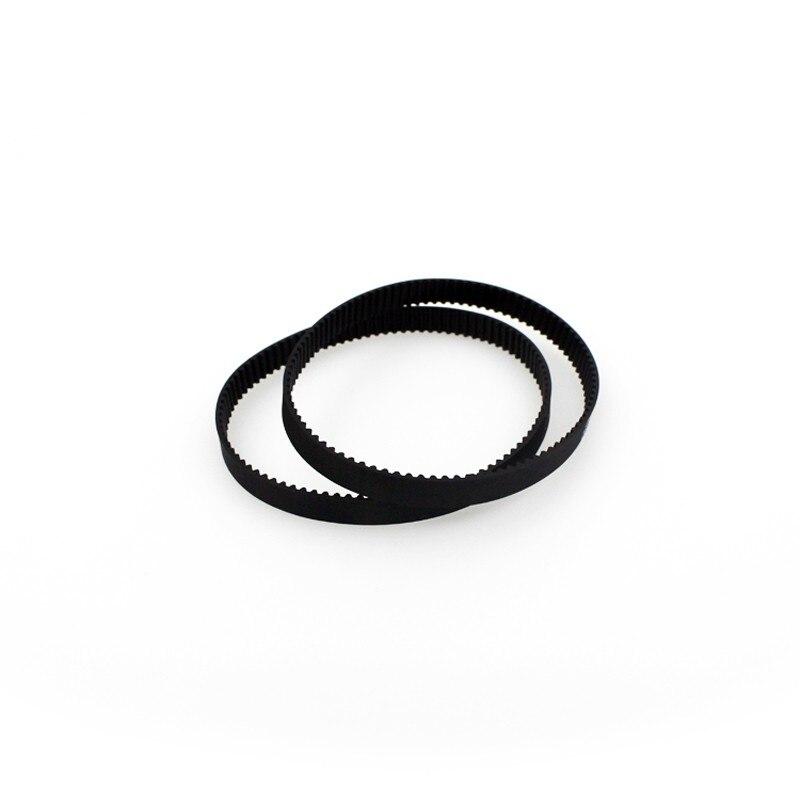 New Brand 3d printer belt closed loop rubber GT2 timing belt 200-2GT-6 Length 200mm width 6mm 9