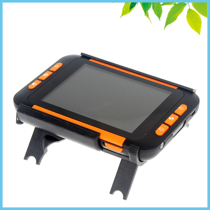 32X Electronic Magnifying Glass 3.5 Inch LCD Low Vision Aids Electronic Magnifier USB Reading Digital Desktop Magnifier 2x 32x digital video magnifier low vision reading aids protable electronic magnifier tv magnifier with led light 4 modes evm35