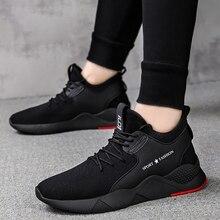 550d013d6 رخيصة الرجال تحلق المنسوجة احذية الجري الرياضية الرجال أحذية رياضية توسيد الركض  المدربين اللياقة البدنية رياضة تنفس شبكة رجل