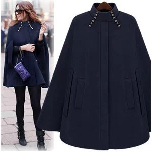 Popular Cashmere Cape Coat-Buy Cheap Cashmere Cape Coat lots from ...