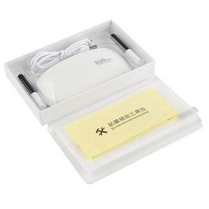 Image 2 - 삼성 S9Plus S10e 플러스 참고 10 프로 강화 유리 액체 풀 접착제 UV 메이 트 20 30 프로 P30 프로 P40 프로에 대 한 2pcs 화면 보호기