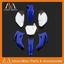 Полный корпус пластиковые наборы для Yamaha TTR110 и китайский 125CC грязи велосипед ямы MX Мотокросс Эндуро супермото SM внедорожных гонок