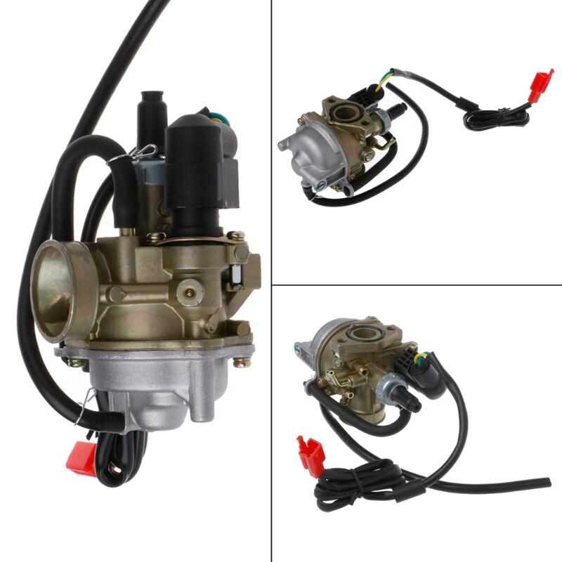 High Quality 19mm Carb Carburetor For Honda 2 Stroke 50cc Dio 50 18 27 28 SA50 SK50 SYM DD50 SP ZX34 35 Kymco Scooter