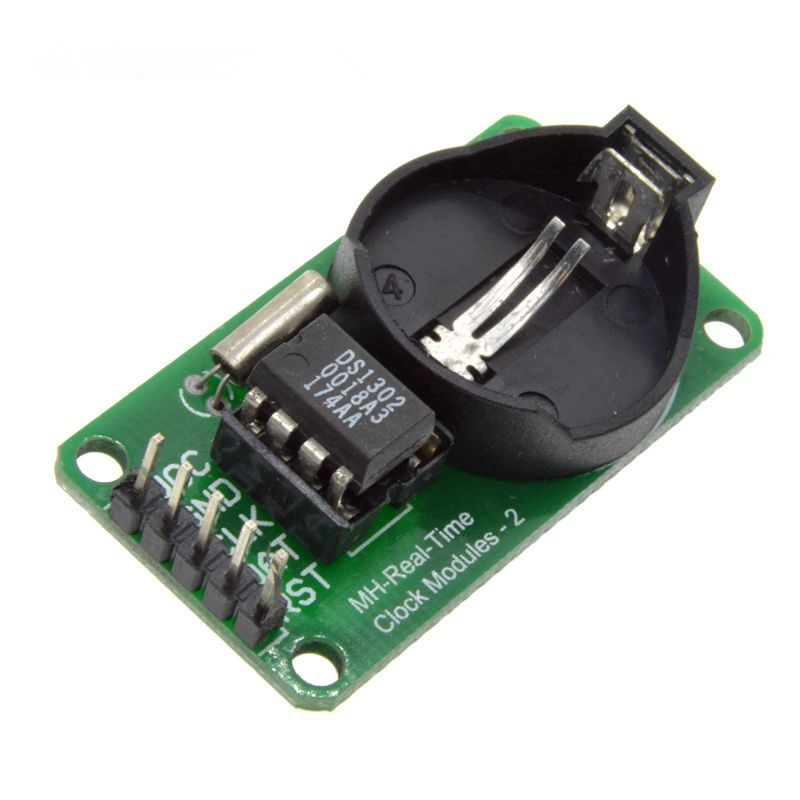 2pc RTC DS1302 Real Time Clock Module Development Board CR2032 AVR ARM PIC SMD for Arduino Compatible with UNO MEGA 2560 3.3V 5V