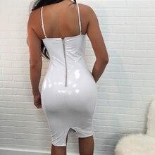 Fashion V-neck Sheath Sexy Dress Women Back Zipper Bodycon Bandage Dresses Basic Evening Party Dress 2018 New Arrivals Vestidos