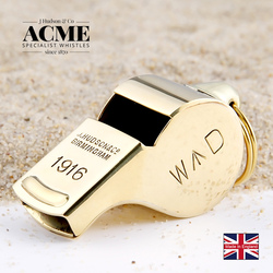 ACME1916WD WWI Memorial Limited Edition Brass Metal Whistle Force Instructor Patrol Whistle