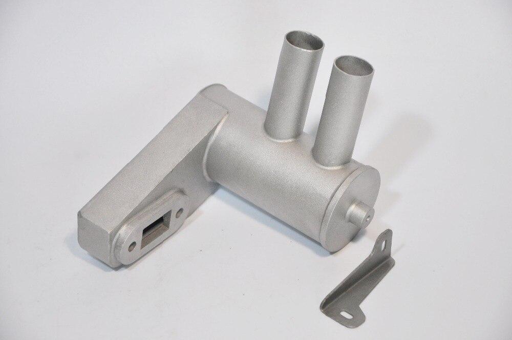RCGF Genuine Parts Rear Exhaust Pipe for RCGF 61CC Gasoline engine