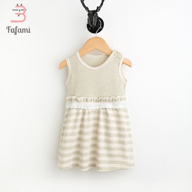 Baby Girl Dress Organic colored cotton dresses Cute summer dress Baby Girl Birthday Clothes Newborn clothes girls summer floral