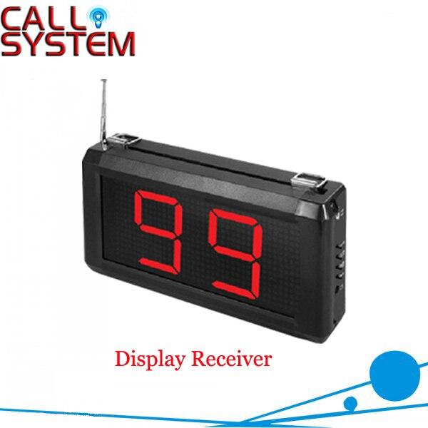 433 мГц Услуги пейджер системы 45 шт. Таблица передатчик и 1 Цифровой montior для использования официанта