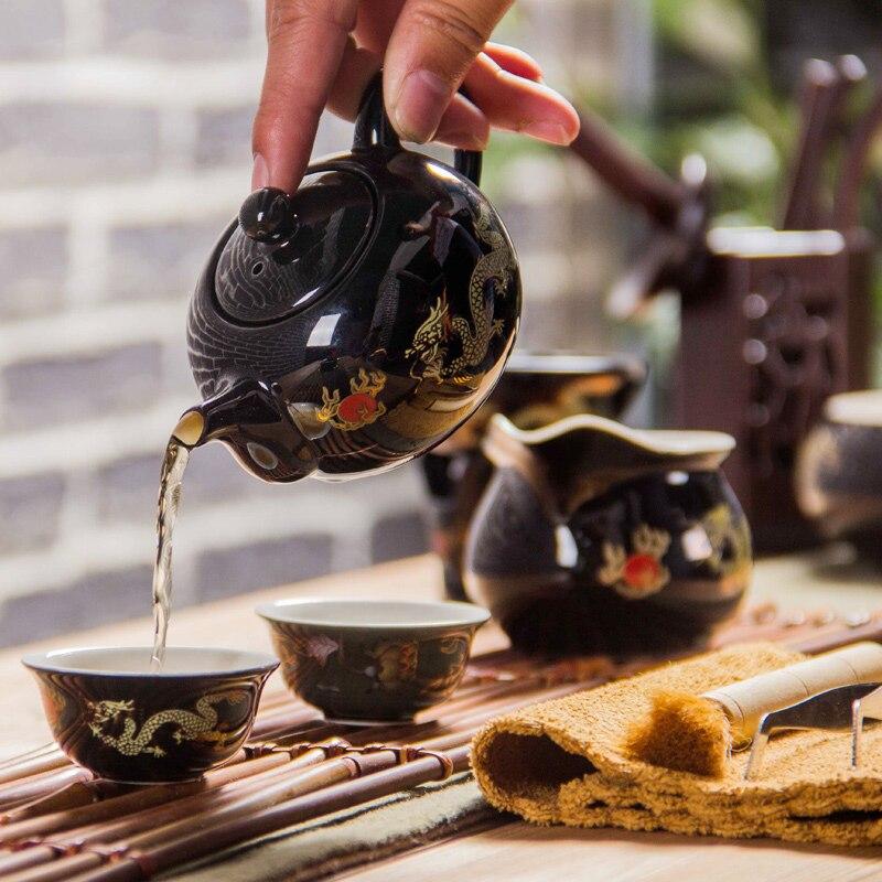 Қытай шайнек фарфоры Қызыл үйлену шай - Тағамдар, тамақтану және бар - фото 5