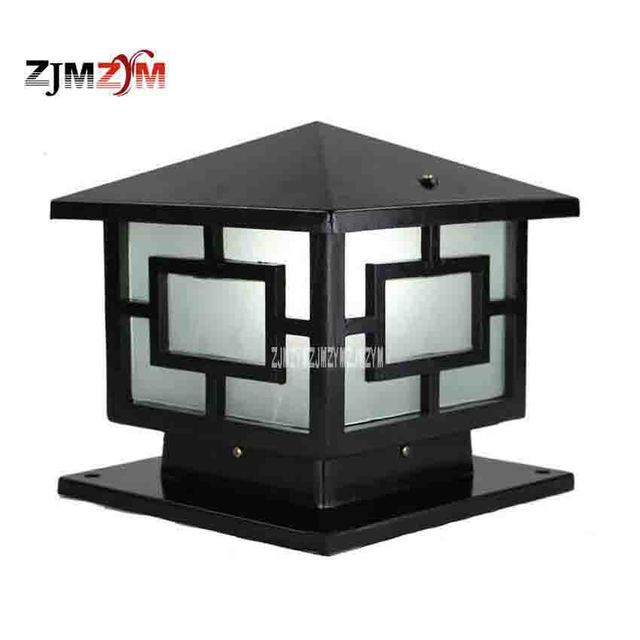 2pcs flwqd 0527 25cm wall lamp post european square lamps led 2pcs flwqd 0527 25cm wall lamp post european square lamps led outdoor courtyard gate lights aloadofball Gallery