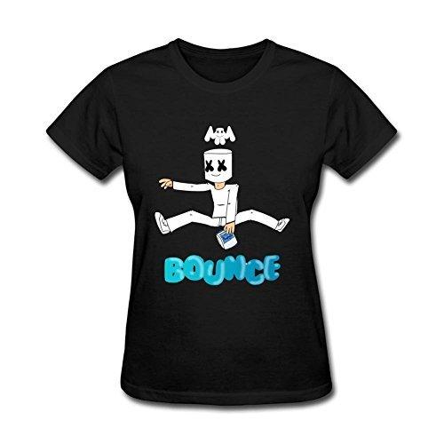Marshmello Diseño camiseta de las mujeres