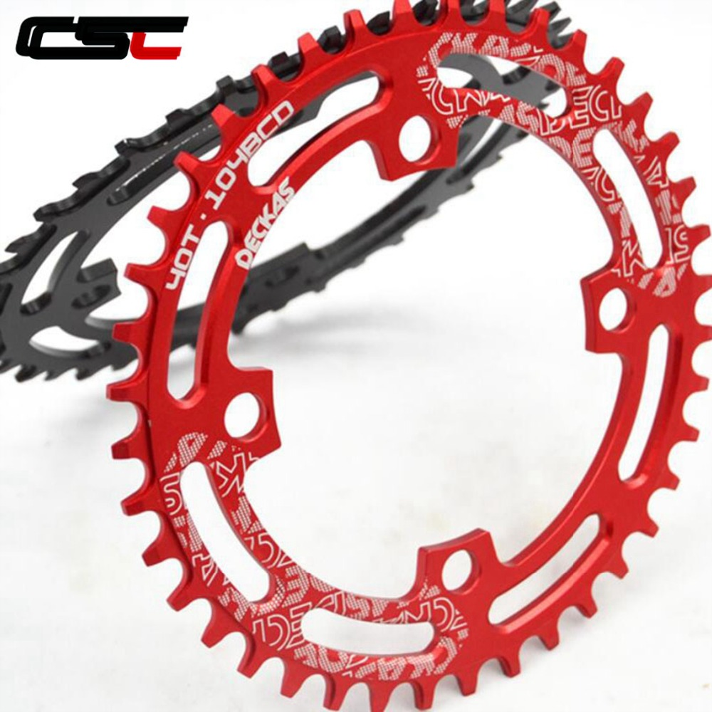 Bolts 104bcd XC AM MTB Bike Chainwheel US 30T Narrow Wide Sigle Tooth Chainring
