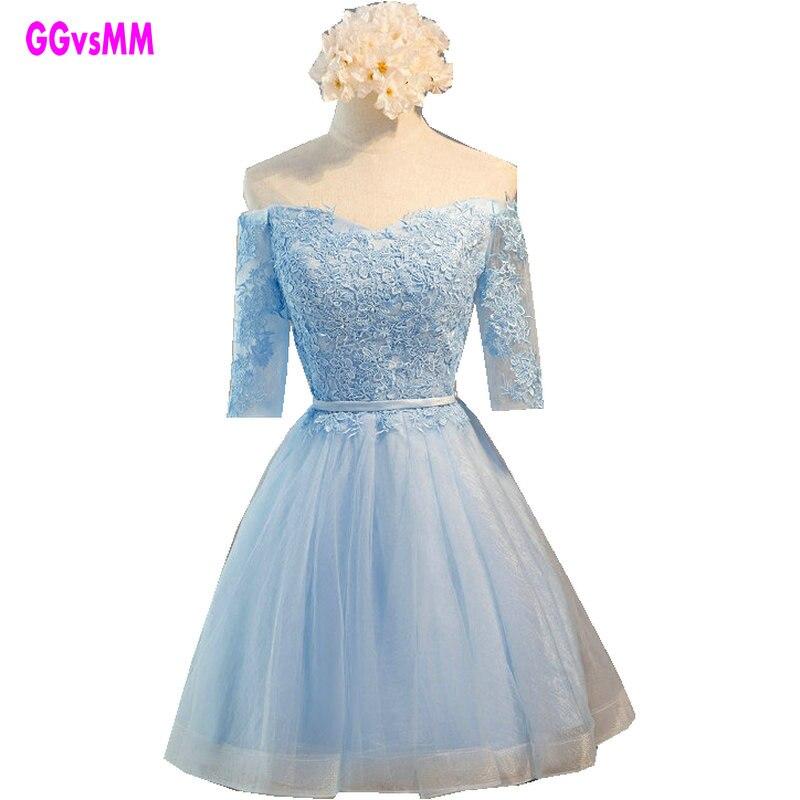 2017 fashion sisters dress short cocktail dress tube top short design lace-up party prom dresses fast shipping vestido de festa