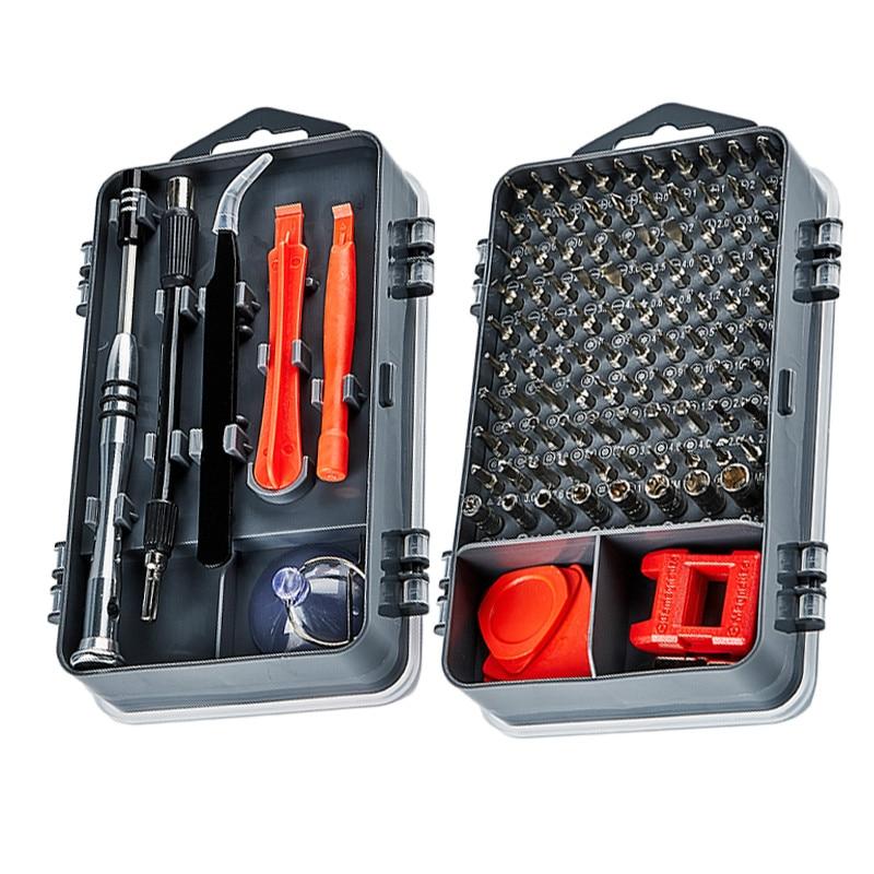 112 in 1 Screwdriver Set Magnetic Screwdriver Bit Torx Multi Mobile Phone Repair Tools Kit Electronic Device Hand Tool