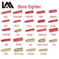 Лазерный BoreSighter 7x57 5,45X39 7,62X39 20GA. 308. 222. 45 7 мм 9 мм красный картридж лазерный прицел тактический указатель