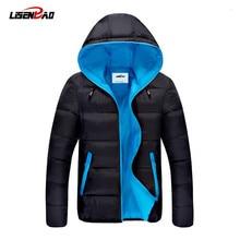 2016 heißer Verkauf Mode Casual winterjacke männer Mantel Komfortabel und Hochwertige Jacke 3 Farben Plus Größe XXXL Großhandel