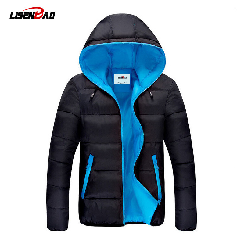 2018 venta caliente moda casual chaqueta de invierno hombres abrigo - Ropa de hombre