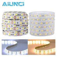LED Strip 5050 DC12V 60LEDs/m Led tape Flexible LED Light RGB RGBW warm white 5050 Backlight led ribbon 5m/lot