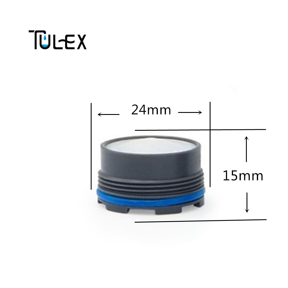 TULEX Faucet Aerator Spout Crane Filter Bubbler 24 MM Bathroom ...
