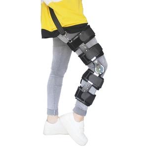 Image 1 - Khớp gối hỗ trợ góc có thể được điều chỉnh, tác cố định, ổn định gãy xương hỗ trợ, bong gân, xương đùi điều chỉnh.