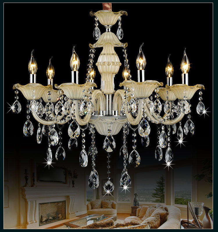 crystal Light Chandelier Modern vintage bedroom living room lights crystal dining room light Pendant chandelier Lighting a1 master bedroom living room lamp crystal pendant lights dining room lamp european style dual use fashion pendant lamps