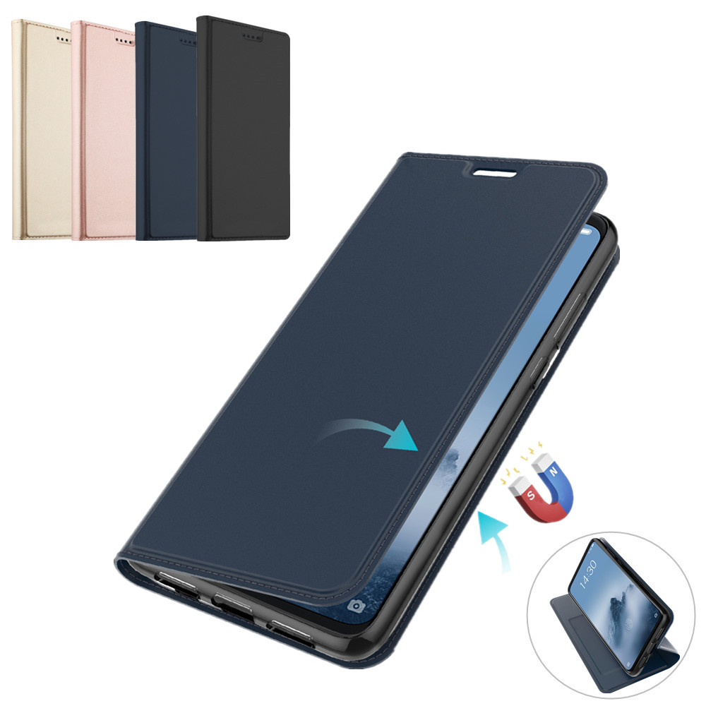 for <font><b>Meizu</b></font> <font><b>16</b></font> plus 16th 16T Case PU Leather Flip Stand Shockproof Wallet Cover for <font><b>Meizu</b></font> C9 <font><b>Pro</b></font> Card Slot Case 16X M6T Note 8 9 image