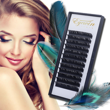 Eyewin Faux Mink Individual Eyelashes Extension C/D Curl Lash Maquiagem Makeup Soft Cilios Cils False Eyelash