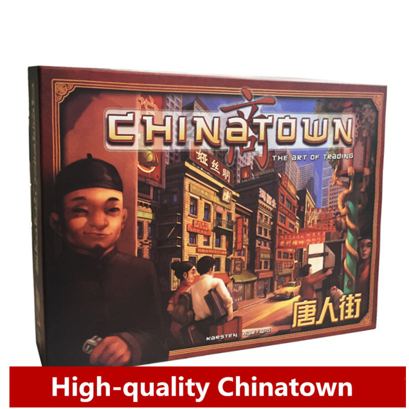 Board Game China town, Classic Game Of Reasoning High Quality, Best Card Game Suitable For The Family /Friends Party