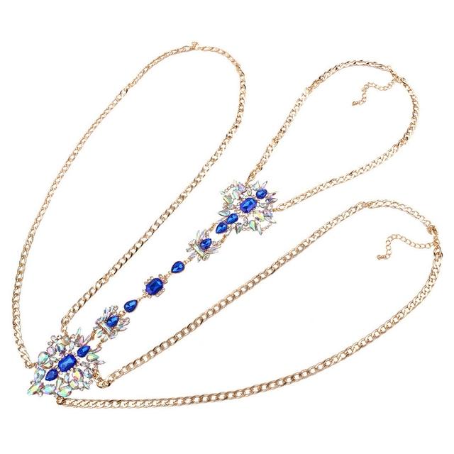 Crystal Huge Body Jewelry Wild Style