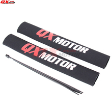 35cm Front Fork Protector Absorber Guard Wrap Cover For CRF YZF KTM KLX Dirt Bike Motorcycle ATV Quad Motocross стоимость