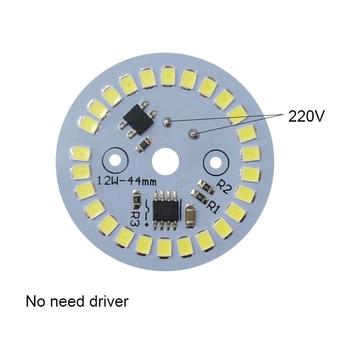 DOB  LED  Lamp Chip 3W 5W 7W 9W 12W  AC 220V Input Smart IC Driver Fit For DIY LED Downlights  Spotlights LED Bulb ampoule led 3w 5w 7w 9w 220v led lamp chip cold white warm white led cob smart ic driver fit for diy led spotlight floodlight
