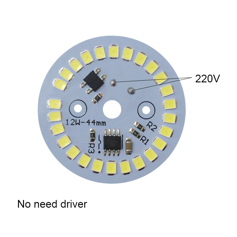DOB LED Lamp Chip 3W <font><b>5W</b></font> 7W 9W 12W AC 220V Input Smart IC Driver Fit For DIY LED Downlights Spotlights LED <font><b>Bulb</b></font> image