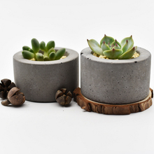 Round Silicone Concrete Mold Cement Flower Pot Mould Handmade Bonsai Plate Pen Holder Home Decoration Tool