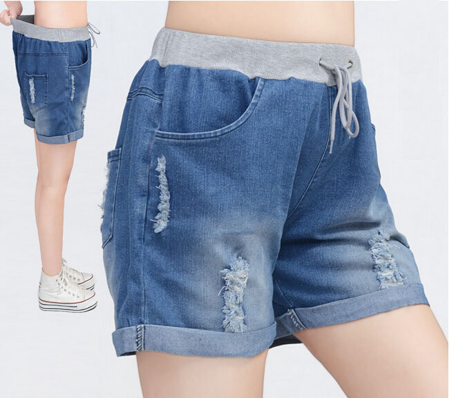Aliexpress.com : Buy New Big Size Fat Hole Leisure Loose Jean ...