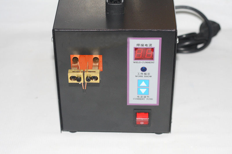 ФОТО Spot Welder Machine Welding Laptop Battery Button battery Battery Pack Applicable Notebook and Phone Battery Welding