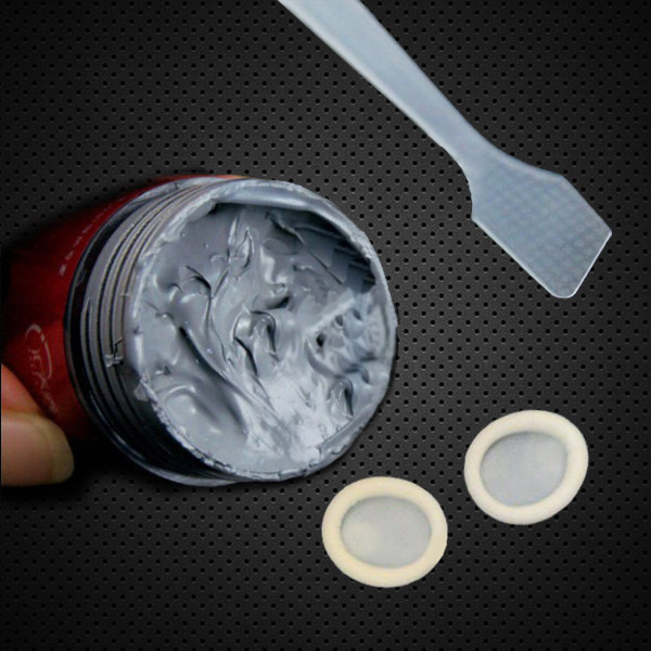 Free shipping 30G full bottle containing silver gray thermal grease Grease CPU heat sink thermal grease thermal paste