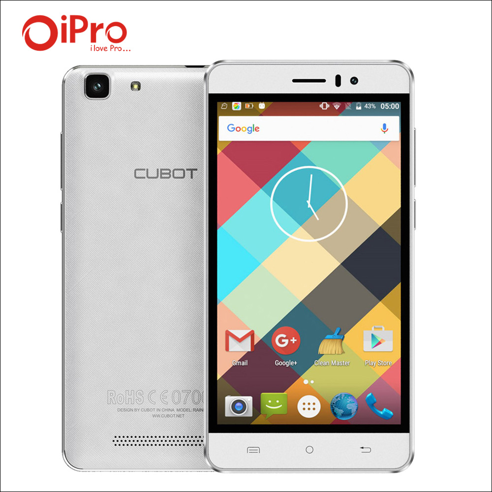 Cubot Rainbow MTK6580 Quad Core Unlocked Smartphone Android 6 0 2200mAh Cell Phones 5 0 Inch